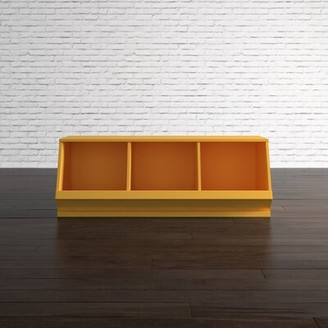Toy Storage Bench Viv + Rae Color: Frost Gray