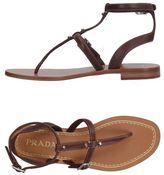 Prada Toe post sandal