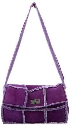 Chanel Shearling Flap Bag
