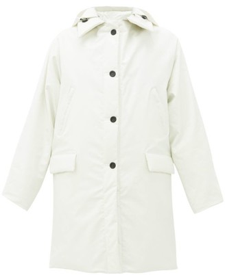 Kassl Editions Oil Padded Shell Jacket - White