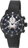 Fortis Men's 638.28.17 K B-42 Black Chronograph Watch