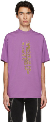 Honey Fucking Dijon Purple Address T-Shirt