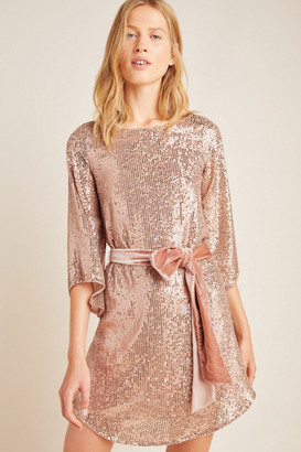 Anthropologie Starling Sequined Tunic