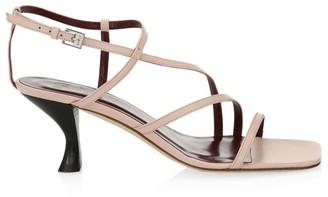 STAUD Gita Leather Sandals