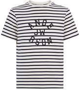Jw Anderson Stripe Logo T-Shirt