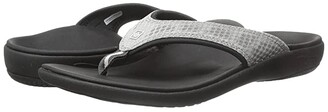 Spenco Yumi Breeze (Black/Sliver) Women's Shoes