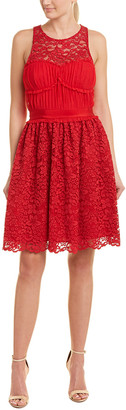 Pinko Lace A-Line Dress