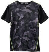 Tek Gear Boys 8-20 Camouflage Sports Tee