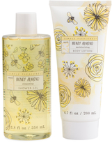 Honey Almond Shower Gel And Body Lotion Set