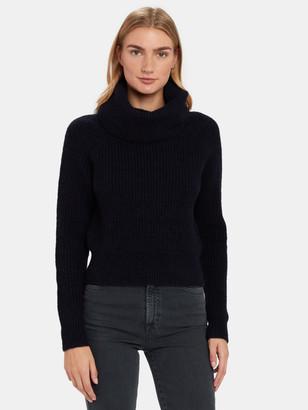 Diane von Furstenberg Pax Rib Cowl Neck Sweater