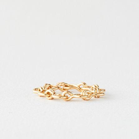 Steven Alan GABRIELA ARTIGAS double link chain ring