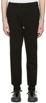 Alexander Wang Black Fleece Lounge Pants