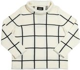 Motoreta Merino Wool Blend Jacquard Sweater