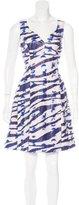 Prabal Gurung 2016 Abstract Print Dress
