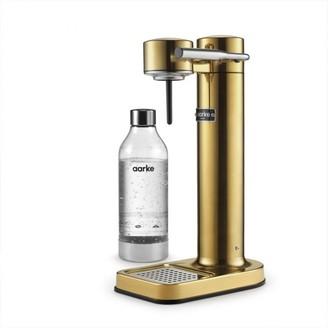Aarke Carbonator Ii Brass Sparkling Water Maker