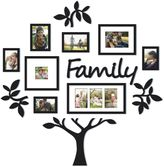 "Bed Bath & Beyond WallVerbsTM 13-Piece ""Family"" Tree Set in Black"