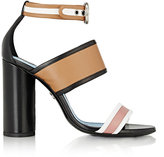 Lanvin Women's Colorblocked Ankle-Strap Sandals