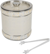Julia Knight Classic Large Ice Bucket with Tongs - Snow