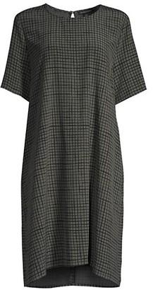 Eileen Fisher Textured Crepe Dress