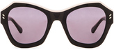 Stella McCartney Colorblock Sunglasses