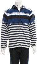 Prada Striped Nylon Jacket