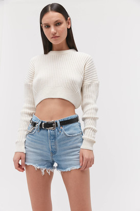 Levi's Levis 501 High-Waisted Denim Short Luxor Heat