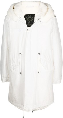 Mr & Mrs Italy Oversize Hooded Parka Coat
