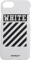 Off-White White Diagonal Iphone 7 Case