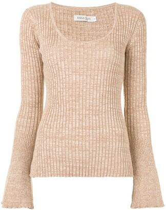 ANNA QUAN Side Slit Jumper