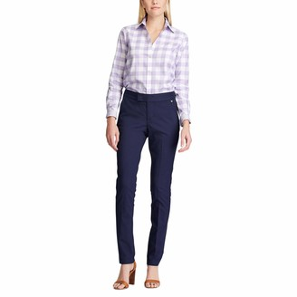 Chaps Women's Long Sleeve Non Iron Broadcloth-Shirt