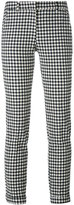 Incotex check skinny trousers - women - Cotton/Nylon/Spandex/Elastane - 38