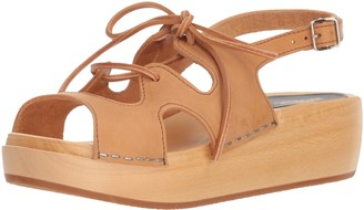 Swedish Hasbeens Women's Lace Up Sandal