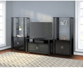 Latitude Run Wentworth TV Stand and Library Storage Cabinet with Doors