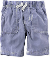 Carter's Striped Cotton Shorts, Toddler Boys (2T-4T)