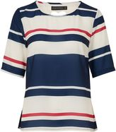 Sugarhill Boutique Honor Love Stripe Top