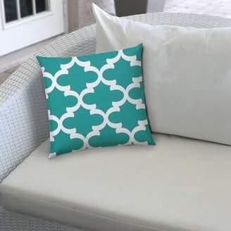 PARADISO House Of Hampton Indoor/Outdoor Throw Pillow House of Hampton