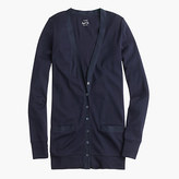 J.Crew Perfect-fit mixed-tape cardigan sweater