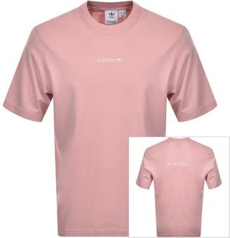 adidas Pastel T Shirt Pink