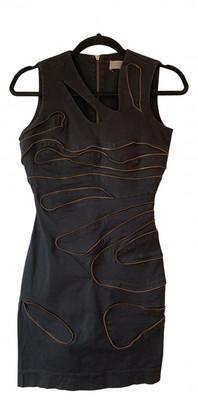 Preen by Thornton Bregazzi Black Denim - Jeans Dresses