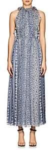 Ulla Johnson Women's Augustine Floral Silk Maxi Dress - Lt. Blue
