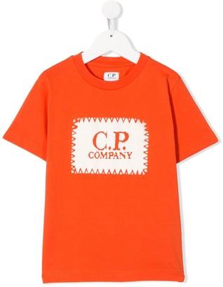 C.P. Company Kids logo-print short-sleeved T-shirt