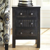 Signature Design by Ashley Charlowe 3-Drawer Nightstand