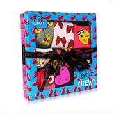 Betsey Johnson Women's 9 Pack Fashion Bow Emoji Crew Gift Box