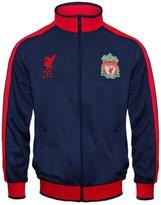 Liverpool F.C. Liverpool Football Club Official Gift Boys Retro Track Top Jacket LB