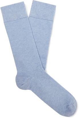 Oliver Spencer Loungewear Miller Melange Stretch Cotton-Blend Socks