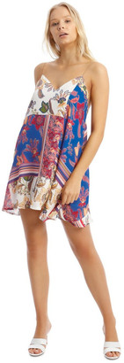 Missguided Floral Chain Strap Cami Shift Dress