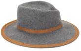 Cloche Raffaello Bettini Large Wool Felt Hat