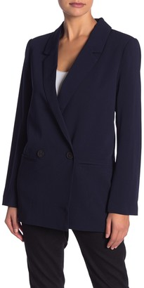 Elodie K Boyfriend Notch Lapel Blazer