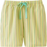 Uniqlo Women's Relaco Striped Lounge Shorts