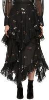 Erdem Black Elsa Skirt